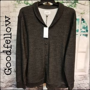 NWT-Supremely Soft Knit Button Up Sweater Size XXL